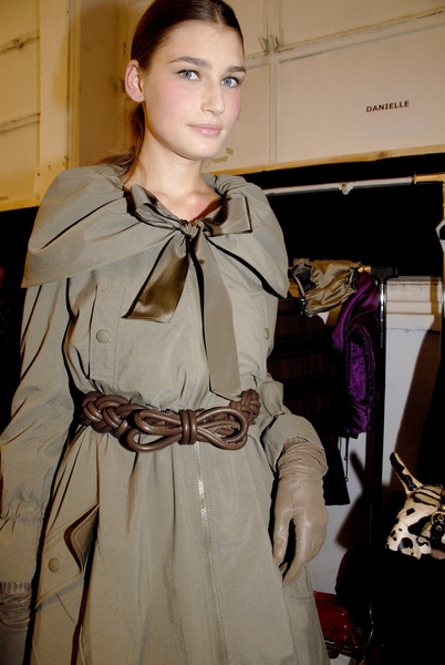 Moschino Cheap & Chic at Milan Fall 2007 (Backstage)