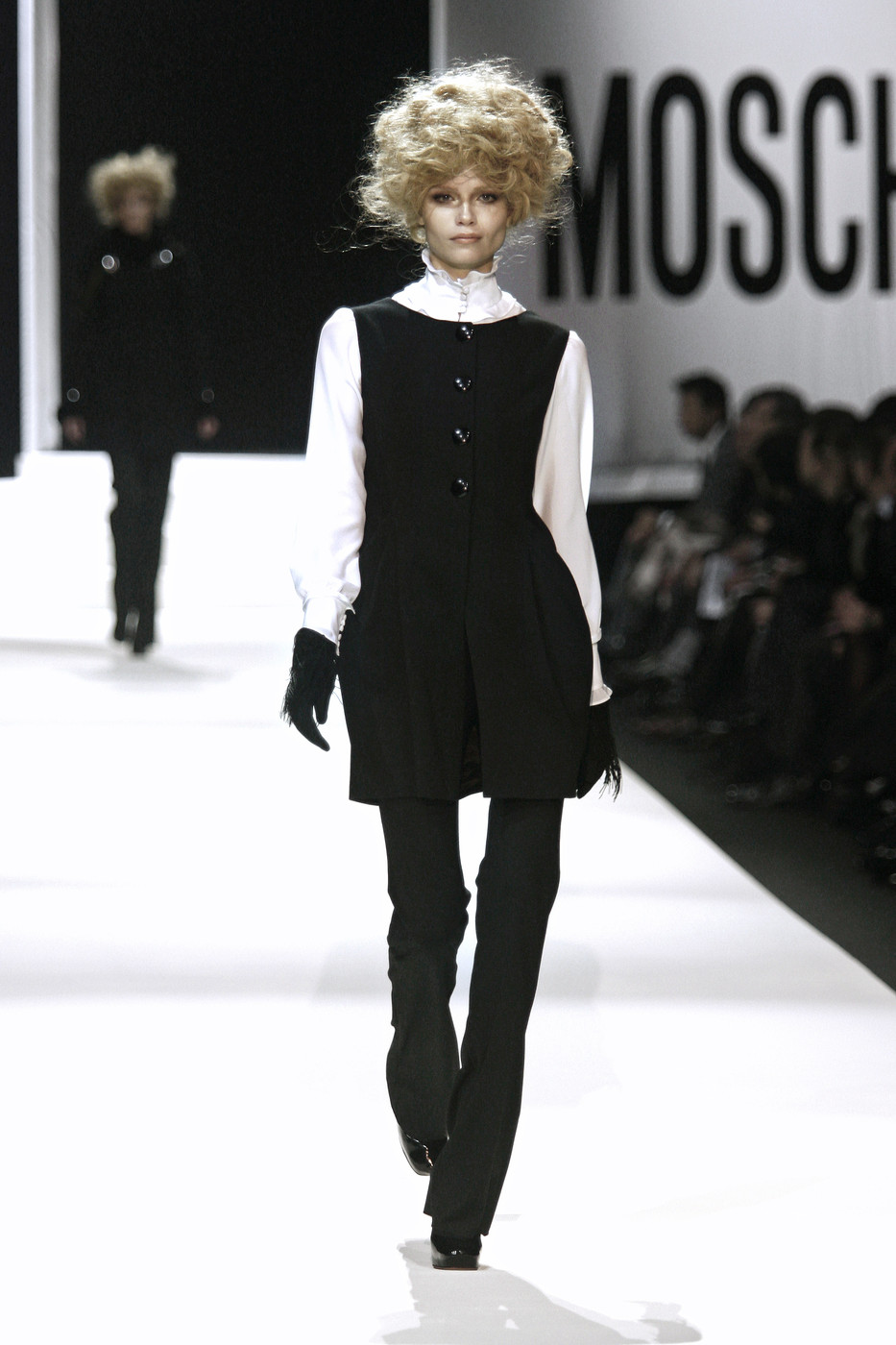 Moschino at Milan Fashion Week Fall 2008