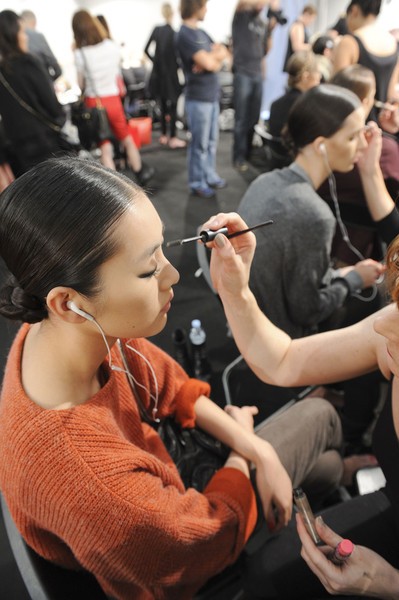 Moschino at Milan Spring 2012 (Backstage)