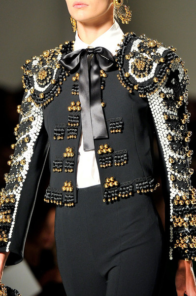 Moschino at Milan Spring 2012 (Details)