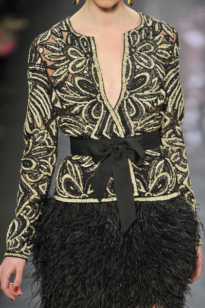 Naeem Khan at New York Fall 2012 (Details)