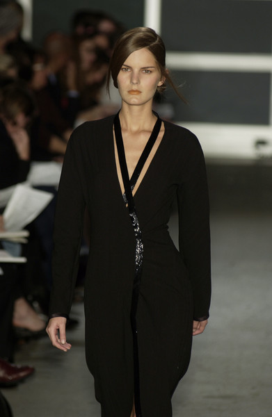 Narciso Rodriguez at New York Fall 2002