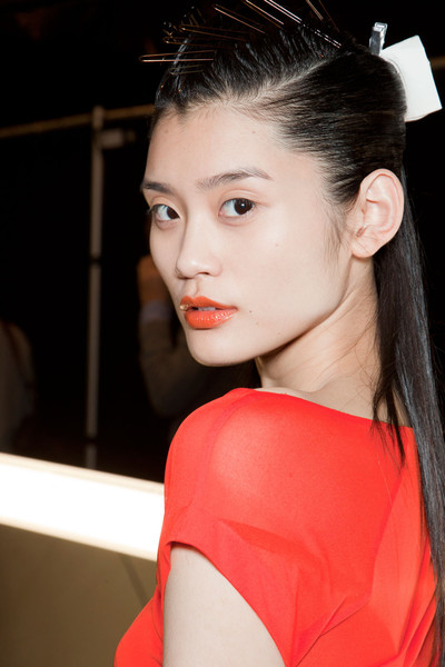 Narciso Rodriguez at New York Fall 2012 (Backstage)
