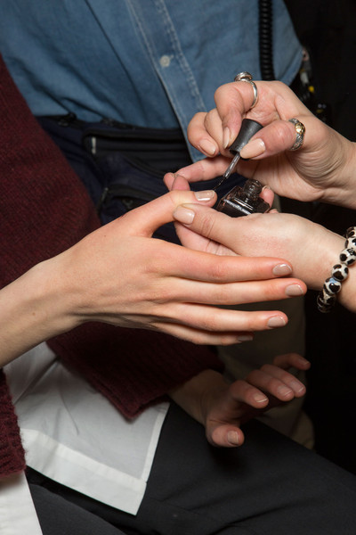 Narciso Rodriguez at New York Fall 2015 (Backstage) [nail,hand,finger,religious item,wrist,fashion accessory,nail care,manicure,gesture,thumb,hand model,fashion accessory,narciso rodriguez,manicure,hand,nail,ring,finger,nail care,new york fashion week,nail,hand model,manicure,ring,hand]