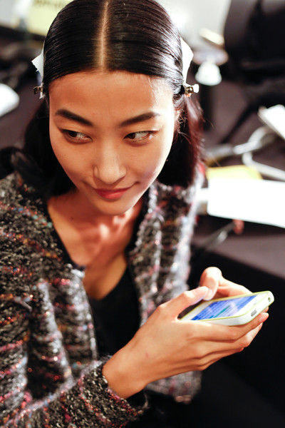 Narciso Rodriguez at New York Spring 2013 (Backstage)