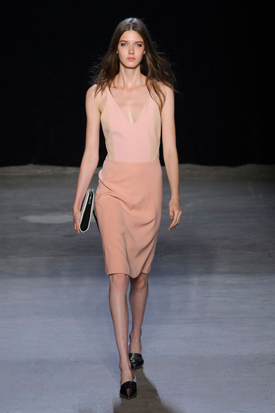 Narciso Rodriguez at New York Spring 2015 [fashion show,fashion model,runway,fashion,clothing,shoulder,dress,neck,public event,event,dress,supermodel,fashion,runway,fashion week,model,haute couture,new york fashion week,event,fashion show,runway,fashion show,fashion,new york fashion week,model,supermodel,haute couture,fashion week,dress]