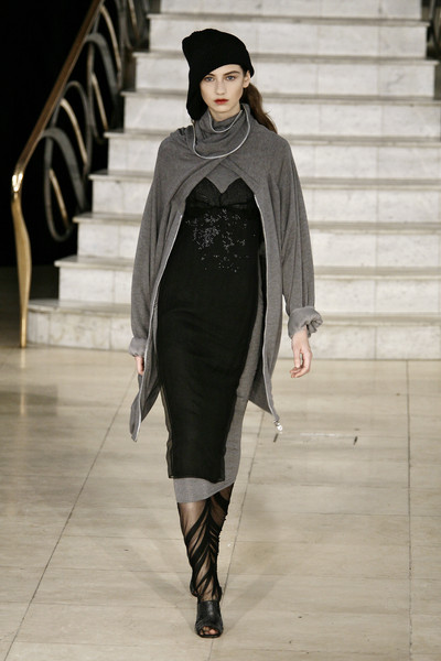 Natascha Stolle at London Fall 2009