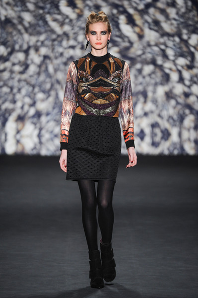 Nicole Miller at New York Fall 2014