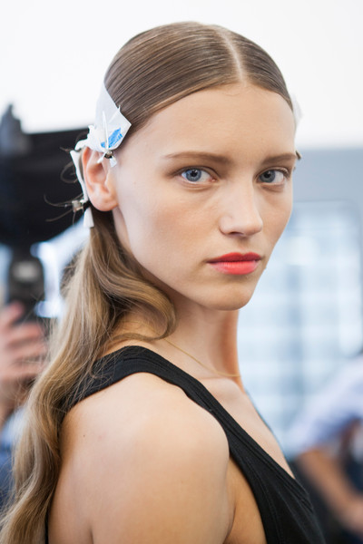 No. 21 at Milan Spring 2013 (Backstage)