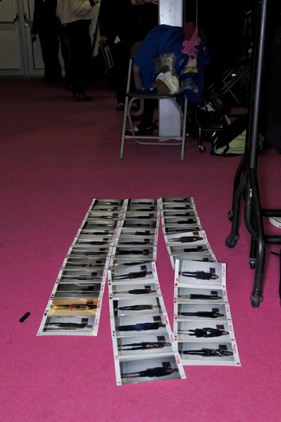 Noir at London Fall 2009 (Backstage)