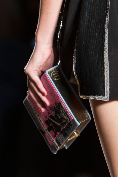 Olympia Le Tan at Paris Spring 2015 (Details)