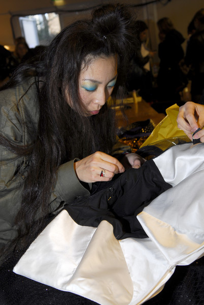 PPQ at London Fall 2008 (Backstage)