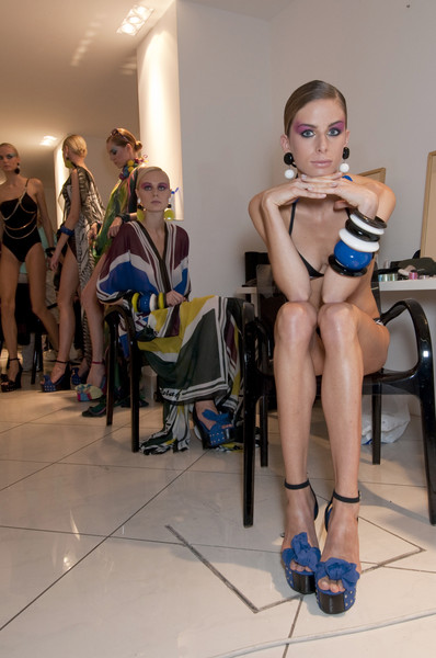 Parah at Milan Spring 2011 (Backstage)
