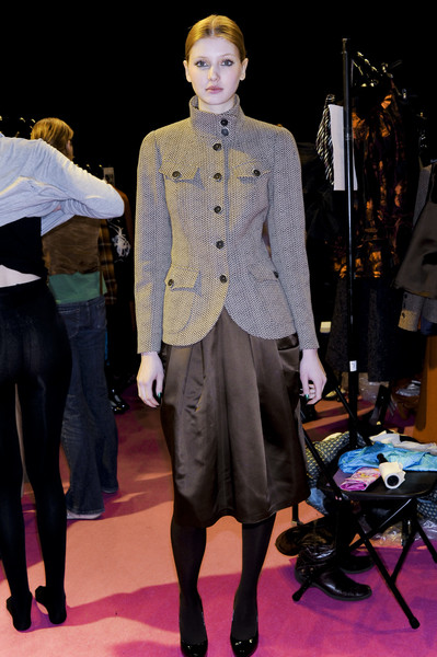 Paul Costelloe at London Fall 2008 (Backstage)