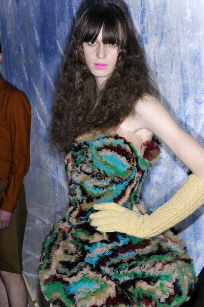 Peter Jensen at London Fall 2008 (Backstage)