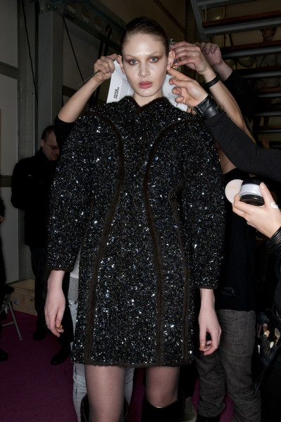Peter Pilotto at London Fall 2009 (Backstage)