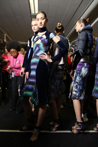 Peter Pilotto at London Fall 2012 (Backstage)