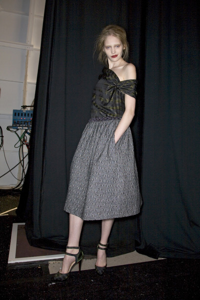 Peter Som at New York Fall 2008 (Backstage)