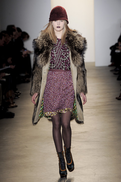 Peter Som at New York Fall 2010