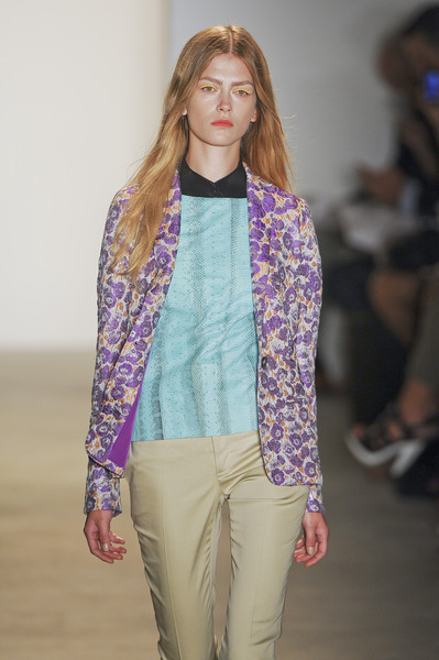 Peter Som at New York Spring 2011