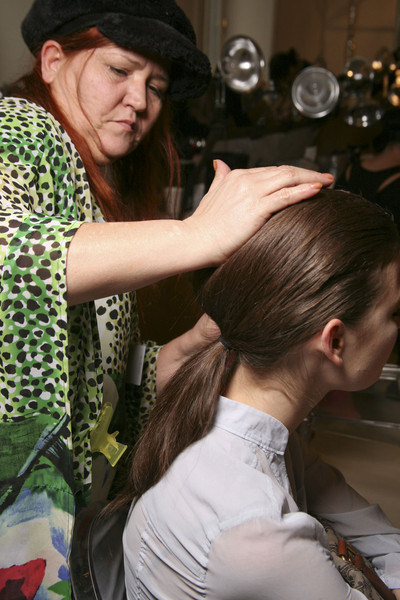 Philosophy di Alberta Ferretti at New York Fall 2011 (Backstage)