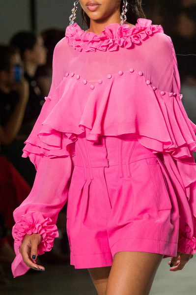 Prabal Gurung at New York Spring 2018 (Details) [fashion model,fashion,clothing,pink,fashion show,shoulder,runway,fashion design,joint,magenta,supermodel,prabal gurung,runway,fashion,model,haute couture,pink,shoulder,new york fashion week,fashion show,runway,new york fashion week,fashion,fashion show,haute couture,model,ready-to-wear,glamour,supermodel,clothing]