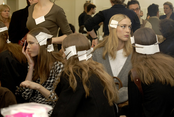 Prada at Milan Fall 2007 (Backstage)