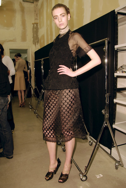 Prada at Milan Fall 2008 (Backstage)