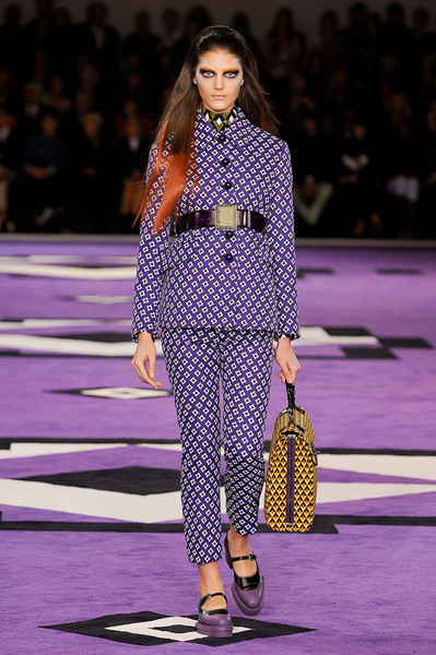 Prada at Milan Fall 2012