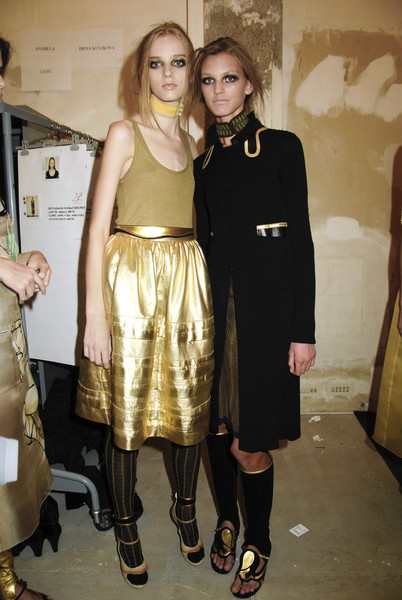 Prada at Milan Spring 2008 (Backstage)