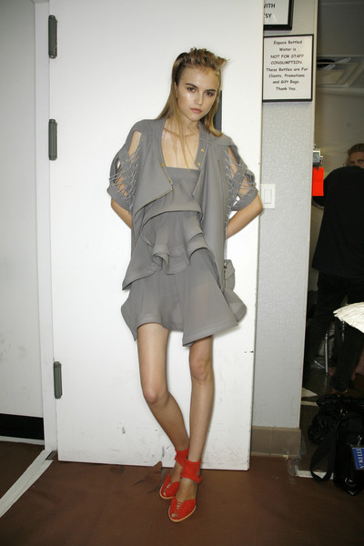 Preen at New York Spring 2009 (Backstage)