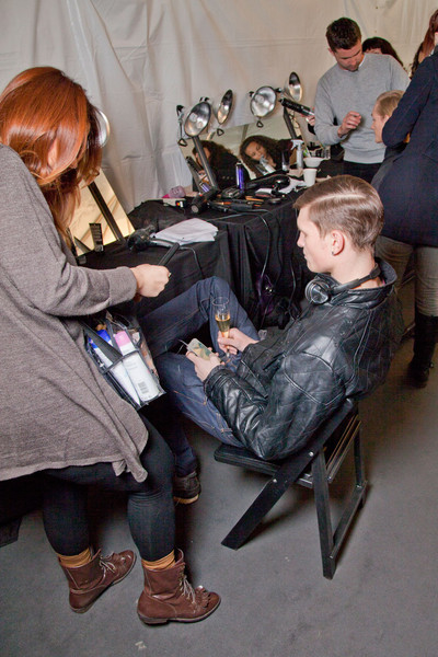 Rag And Bone Mens at New York Fall 2012 (Backstage)