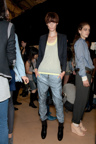 Rag & Bone at New York Spring 2010 (Backstage)