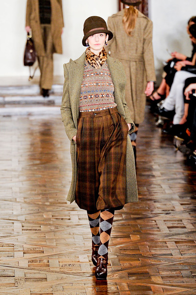 Ralph Lauren at New York Fall 2012