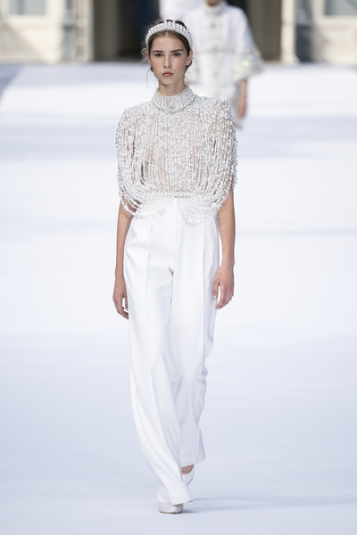 Ralph & Russo at Couture Fall 2019 [fashion model,fashion,fashion show,white,runway,clothing,haute couture,neck,waist,public event,couture fall,haute couture,fashion,fashion week,runway,white,clothing,ralph russo,fashion show,paris fashion week,haute couture,ralph russo,paris fashion week,fashion show,autumn,fashion,chanel,fashion week,ready-to-wear,runway]