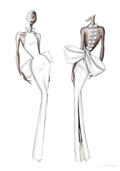 Ralph & Russo at Couture Fall 2020 [shoulder,fashion design,fashion illustration,standing,joint,leg,costume design,sketch,arm,drawing,couture fall,haute couture,fashion,model,fashion week,runway,fashion illustration,standing,ralph russo,fashion show,haute couture,ralph russo,chanel,fashion,f\u00e9d\u00e9ration fran\u00e7aise de la couture,model,fashion week,fashion show,runway]