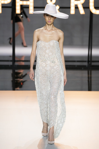 Ralph & Russo at Couture Spring 2019 [couture spring 2019,fashion model,fashion show,fashion,clothing,runway,shoulder,dress,haute couture,waist,neck,fashion,runway,haute couture,spring,model,fashion week,vogue,ralph russo,fashion show,ralph russo,haute couture,fashion,spring,model,emilio pucci,runway,fashion show,fashion week,vogue]