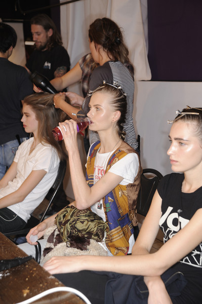 Richard Nicoll at London Spring 2009 (Backstage)