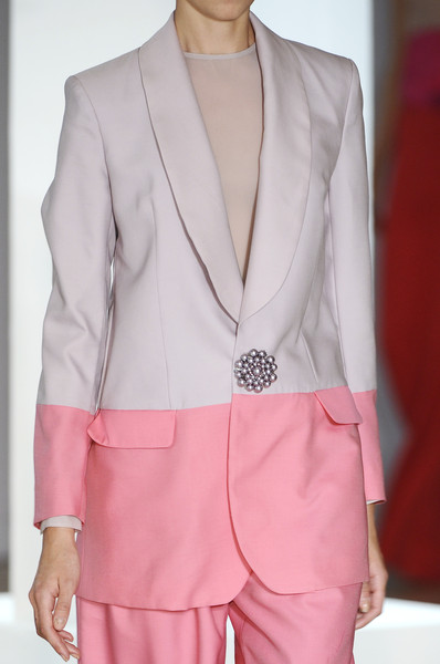 Richard Nicoll at London Spring 2009 (Details)