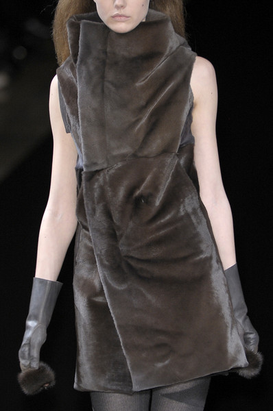 Rick Owens at Paris Fall 2010 (Details)