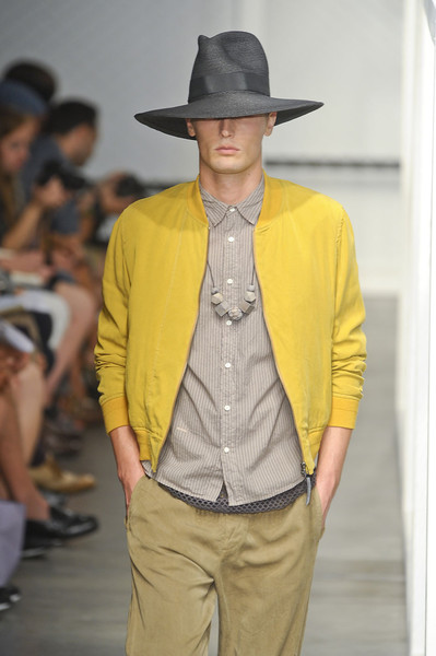 Robert Geller at New York Spring 2012