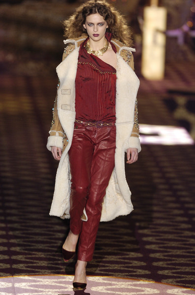 Roberto Cavalli at Milan Fall 2004