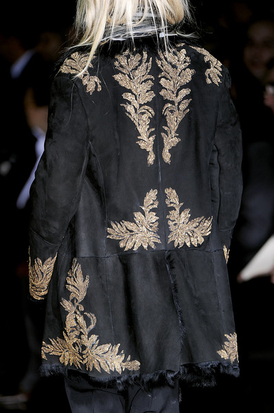 Roberto Cavalli at Milan Fall 2010 (Details)