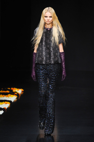 Roberto Cavalli at Milan Fall 2012