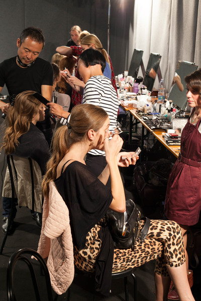 Roccobarocco at Milan Spring 2013 (Backstage)