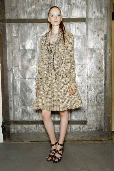 Rodarte at New York Spring 2008 (Backstage)
