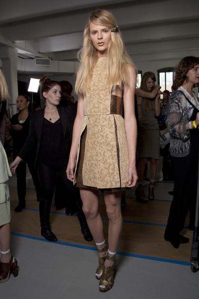 Rodarte at New York Spring 2011 (Backstage)