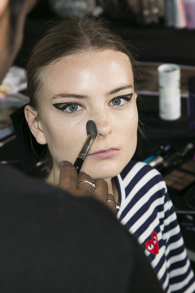 Roksanda Ilincic at London Spring 2014 (Backstage)