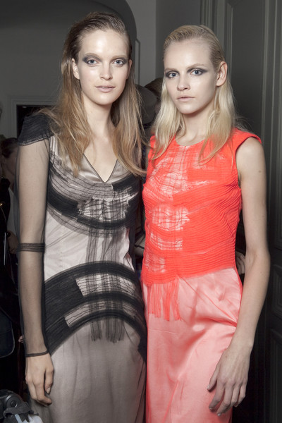 Rue du Mail at Paris Spring 2011 (Backstage)