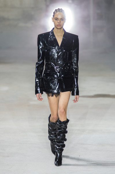 Saint Laurent at Paris Fall 2017 [autumn,fashion model,fashion show,fashion,runway,clothing,public event,knee,shoulder,footwear,outerwear,anthony vaccarello,fashion,runway,fashion week,clothing,saint laurent,paris fashion week,fashion show,event,anthony vaccarello,yves saint laurent,autumn,fashion week,fashion,paris fashion week 2018,runway,fashion show,ready-to-wear]